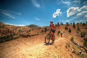 Rim Tours: Utah's Original Mountain Bike Outfitter :: All-Inclusive Guided Tours & Bikes. Ride the spectacular canyon country between two of Utah's stunning National Parks! Virgin River Rim Trail, Red Canyon, Thunder Mountain.