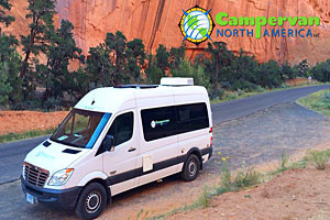 Campervan RV rentals | Las Vegas Pickups for Parks