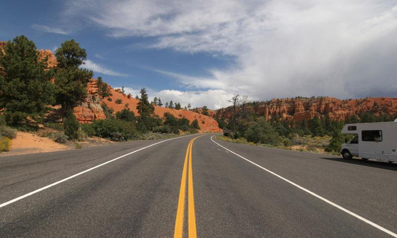 Scenic Drive near Bryce Canyon