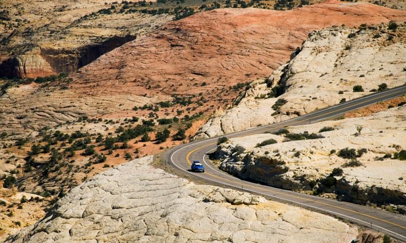 Scenic Drive in Grand Staircase Esclante National Monument