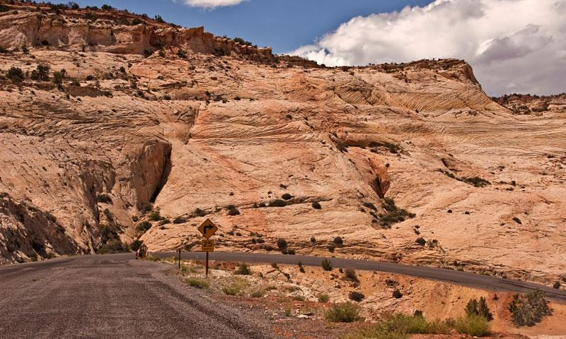 Highway 12 through Grand Staircase Escalante National Monument
