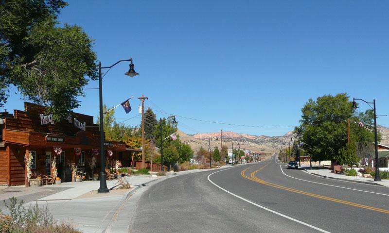 Downtown Tropic Utah