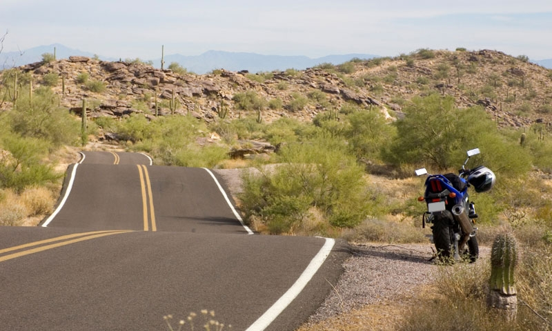 Motorcycling through the Southwest
