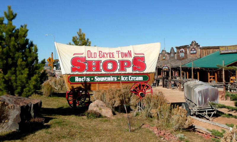 Shopping and Fun at Old Bryce Town