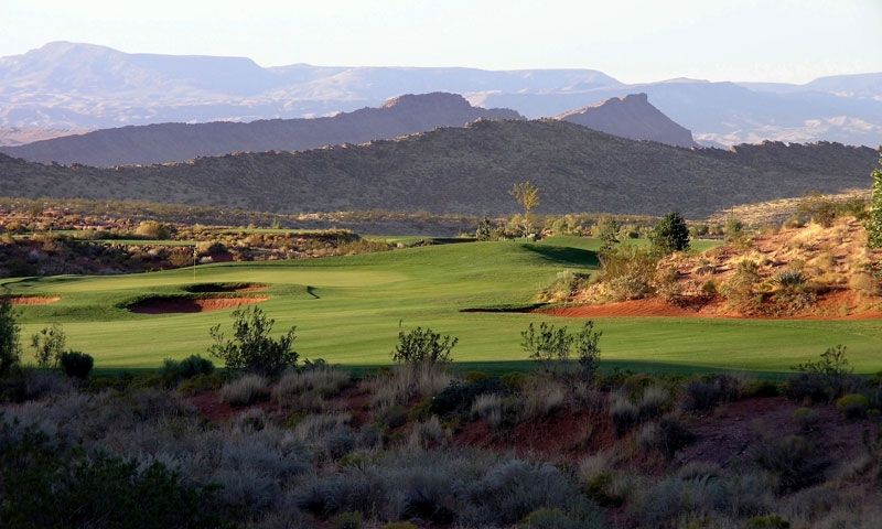 Coral Canyon Golf Course in St. George Utah