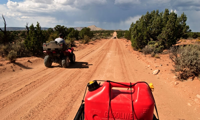 Jeeping on Cottonwood Road in Escalante