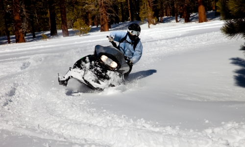 Bryce Canyon Snowmobiling