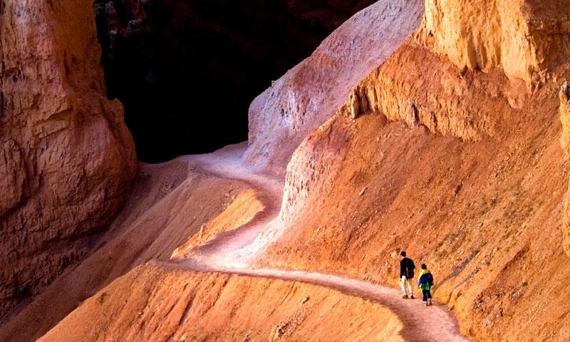 Hiking Trail Bryce Canyon National Park Utah