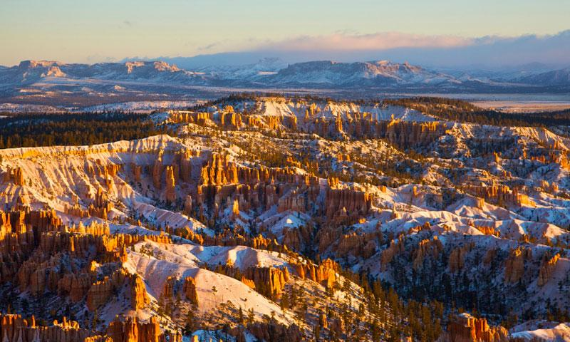 Bryce Canyon National Park View