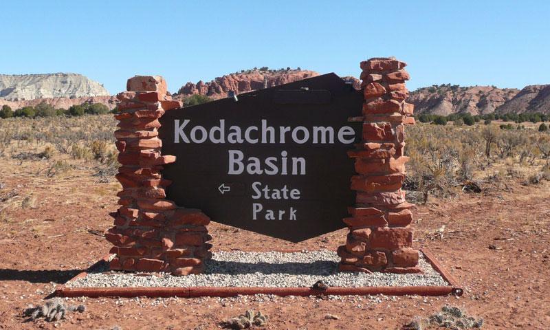 Kodachrome Basin State Park in Utah
