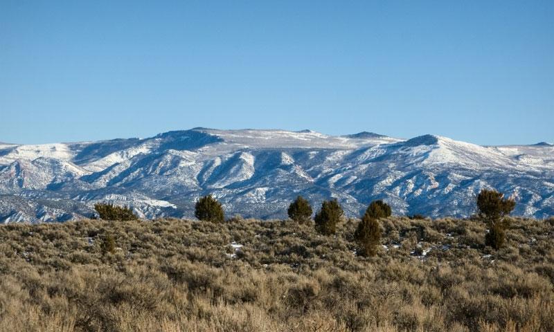 Mountains near Cedar City Utah