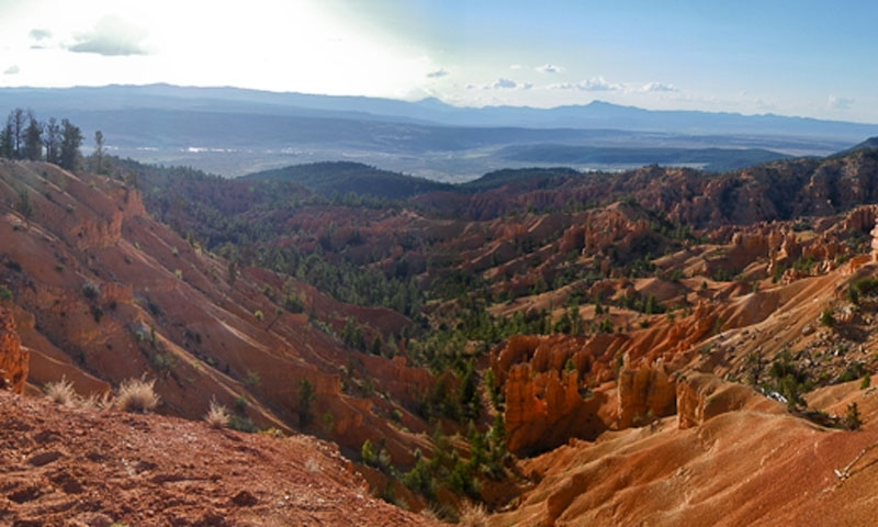 Thunder Mountain Biking Trail near Bryce Canyon