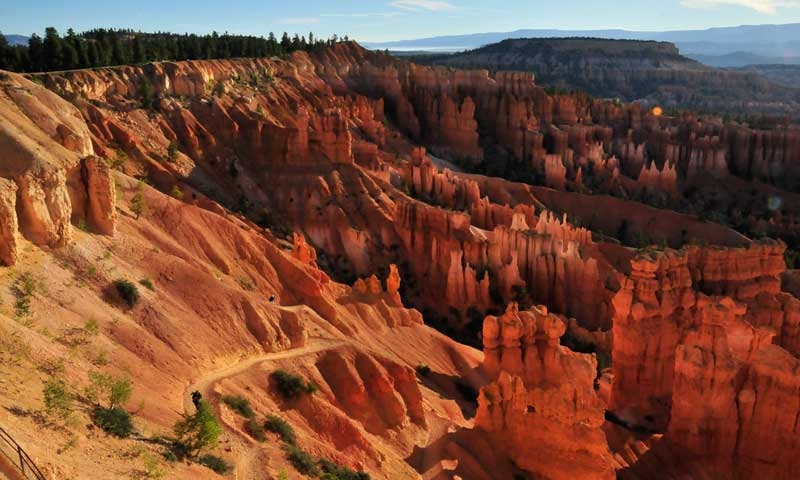 Sunrise at Sunset Point in Bryce National Park